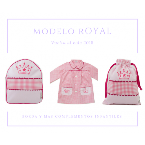 BABY-MANDILON ESCOLAR ROYAL